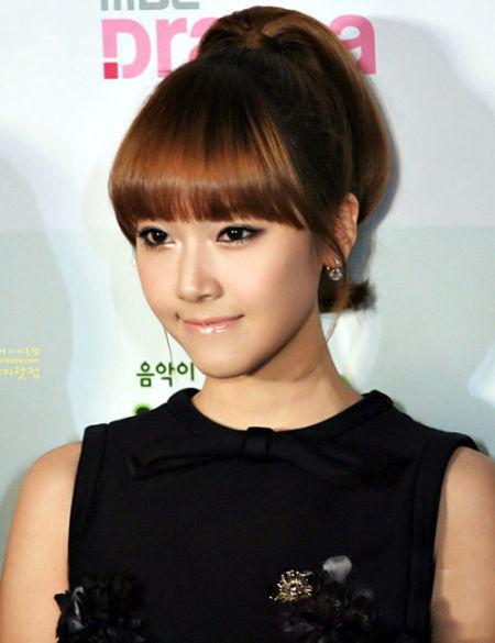 全球最美面孔 韩国少女时代洁西卡图片
