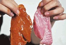 传知名超市在安徽多地贩卖假牛肉