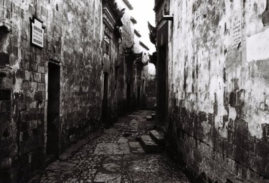 徽州古村小巷