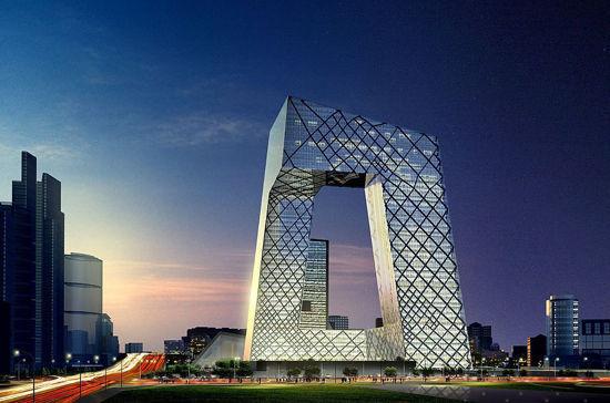 央视大楼:中国奇葩建筑的始祖