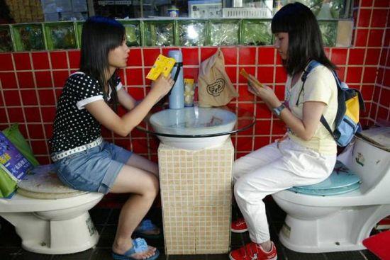 广东深圳的厕所主题餐馆