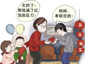 过年回家给父母多少红包合适?