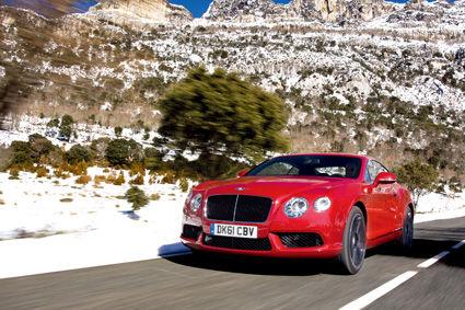 V风8面 全新宾利欧陆GT V8