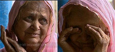 """曾经做过""""性奴""""的老妇谈到自己的女儿重蹈覆辙时泪流满面。"""