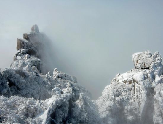 九华山冬景