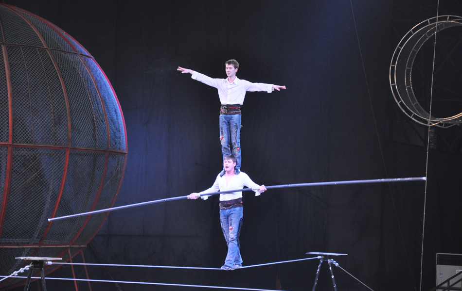 俄罗斯国家大马戏场景