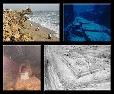 印度海域古城