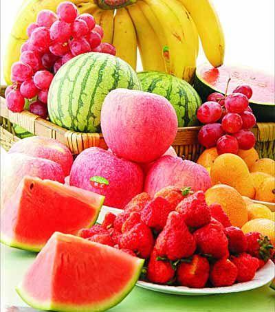 最宜多吃蔬菜和水果
