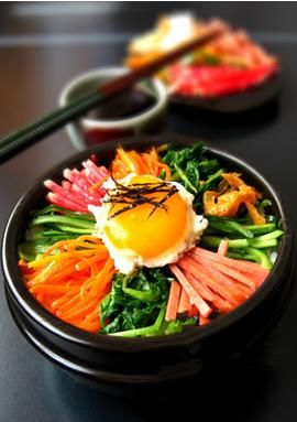 平昌野菜拌饭