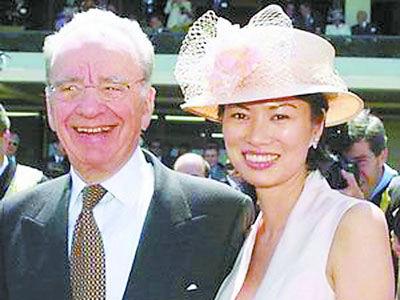 富豪们的婚姻大抵有4种类型,其一麻雀变凤凰,如邓文迪嫁给传媒大王默多克。