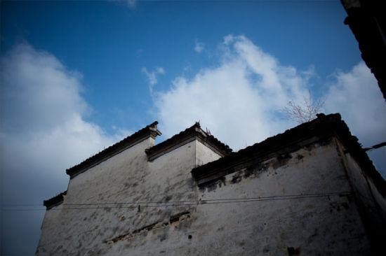 青砖小瓦马头墙