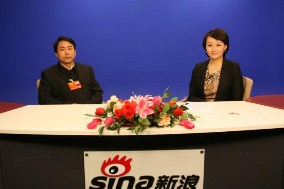 郑孝和董事长做客新浪网两会访谈聊天室