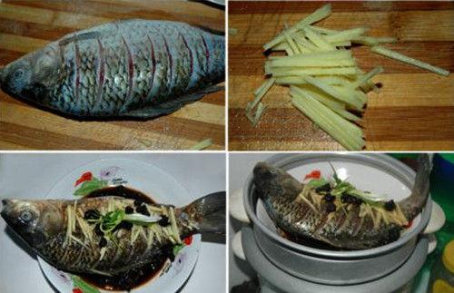 电饭煲版美味蒸鱼