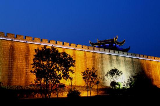 歙县的古徽州城墙
