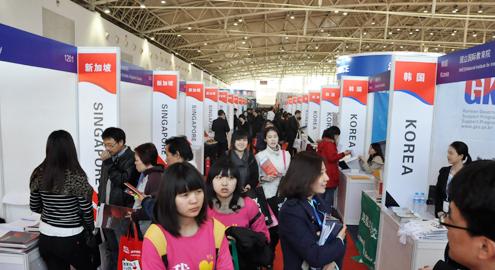 2013国际教育巡回展北京站火爆会场