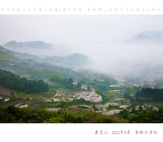 九里岭清晨景色