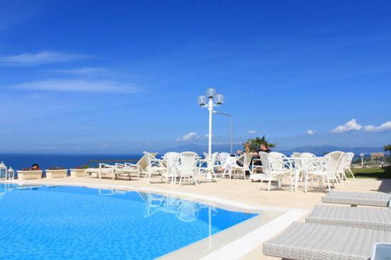 爱琴海LaVista酒店露台