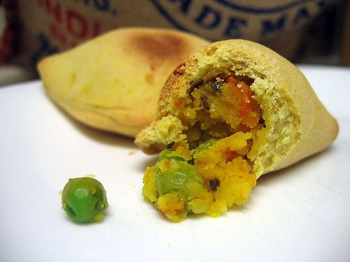 印度咖喱土豆卷饼