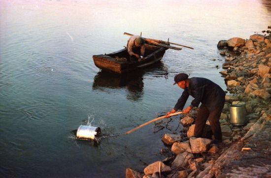 汉江是汉江两岸居民的生命线——徐信摄
