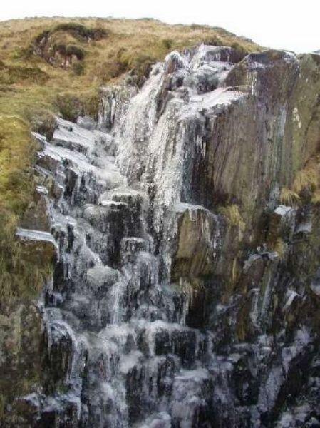 苏格兰加洛维山道壶口瀑布
