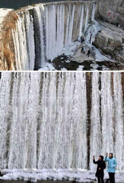 中国山东枣庄龙床水库大坝