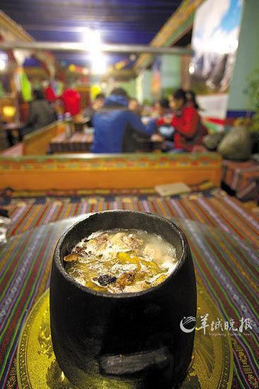 大峡谷美食——石锅鸡