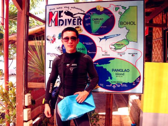 长滩岛也是潜水胜地