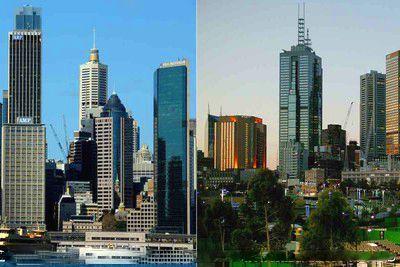 悉尼和墨尔本(澳大利亚)