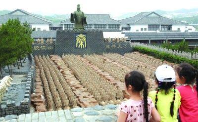 在安庆太湖五千年文博园主题公园