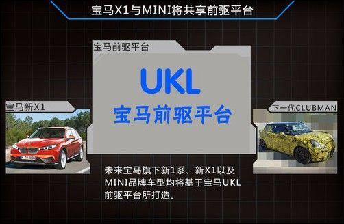 MINI CLUBMAN与X1共享平台 尺寸增大