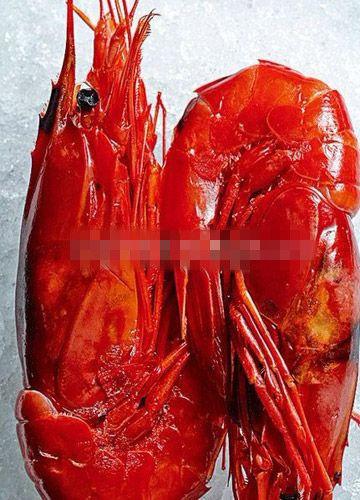地中海红虾