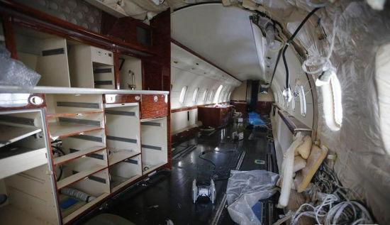 赵本山私人飞机舱内布置曝光[高清大图]