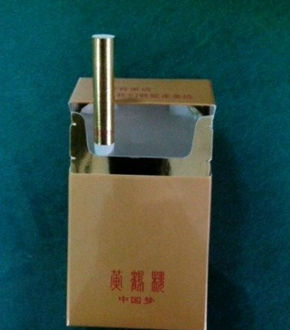 网上流传的中国梦香烟