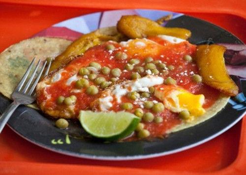 墨西哥:煎蛋