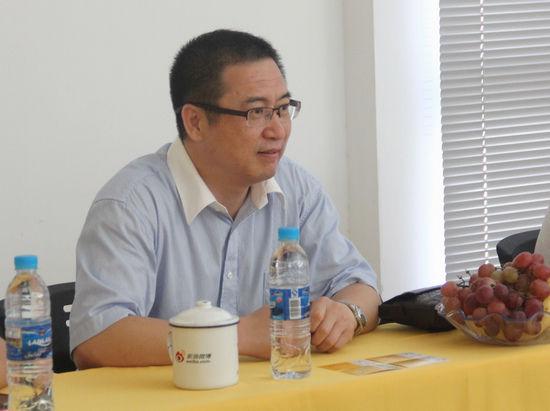 万里龙副总经理就太平人寿安徽分公司的业态与大家进行交流
