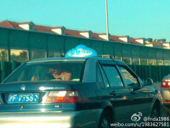 上海的士激情戏主角系老外