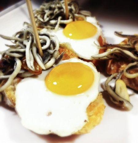 海鲜蒸蛋小吃