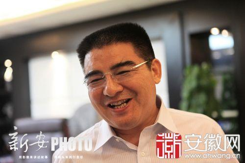 陈光标昨现身合肥自称大V:我微博只传播正能量