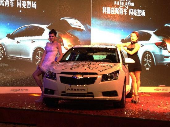 雪佛兰科鲁兹掀背车苏皖地区上市发布盛典夺目上演