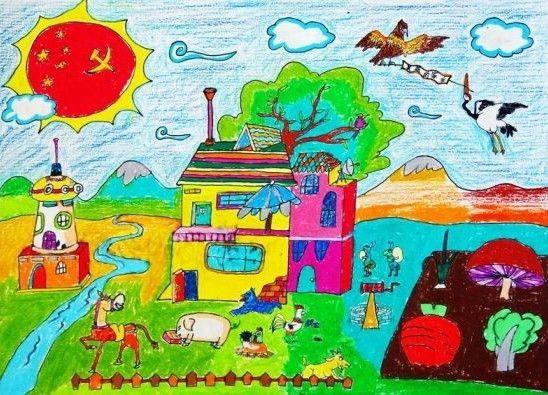 5年级美术图画_漂亮图画5年级美术_5年级美术画画大全_鹊桥吧图片