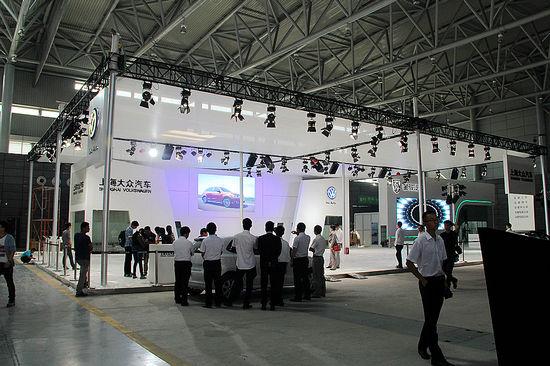 上海大众展台