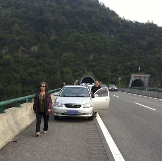 高速路成观景台