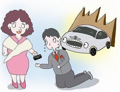 丈母娘婚宴上送4百万宾利车 女婿激动下跪