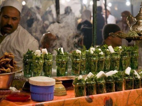 摩洛哥的薄荷茶