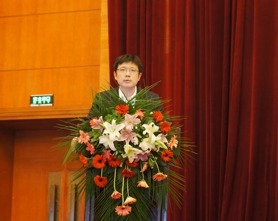 海尔集团合肥工贸中心总经理孙其佳先生致辞