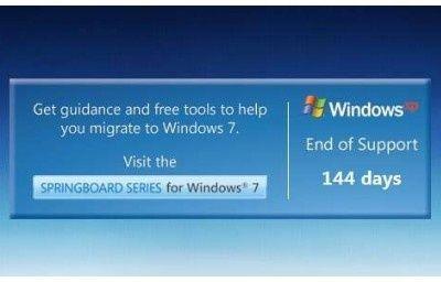 微软发布WindowsXP死亡倒计时工具