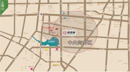 合肥银泰城区位图