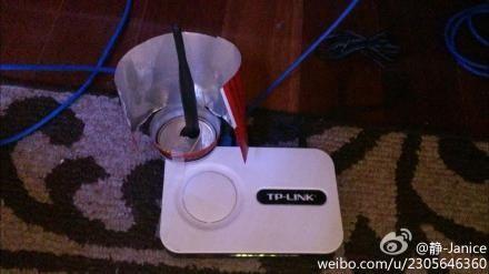 自制Wi-Fi信号增强器的确有效