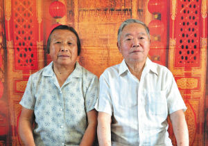 陆春甫(夫)   1934.2出生   卢杏雲(妻)   1936.6出生   结婚53年   有3个子女