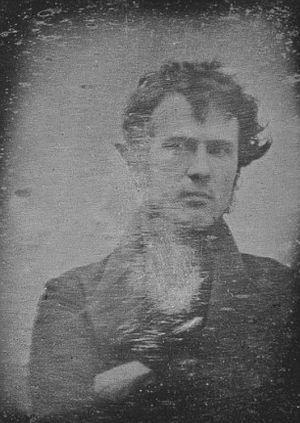 人类史上第一张自拍照曝光拍于1839年